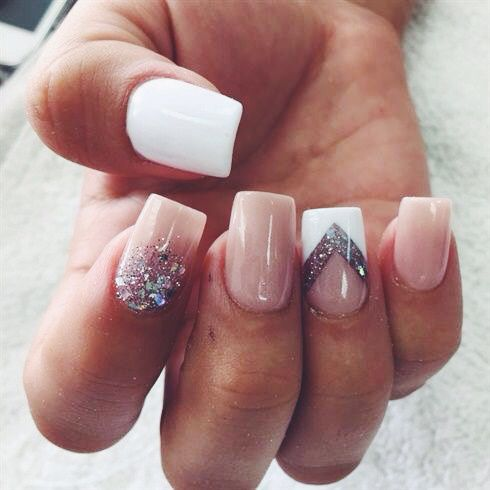 Accent nail art inspiration #besthandbagsever - Accent Nails, Nails And Nail Art On Pinterest