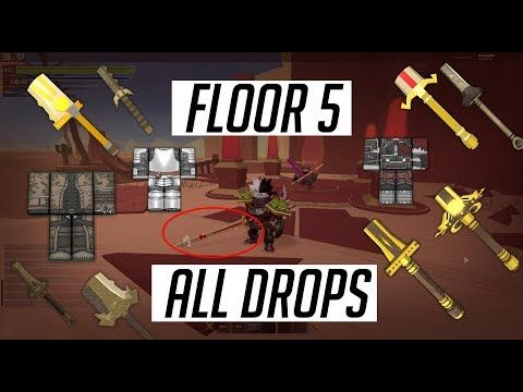 60 Floor 5 All Drops Item Stats Swordburst 2 Rare Drops Youtube Flooring Drop Roblox
