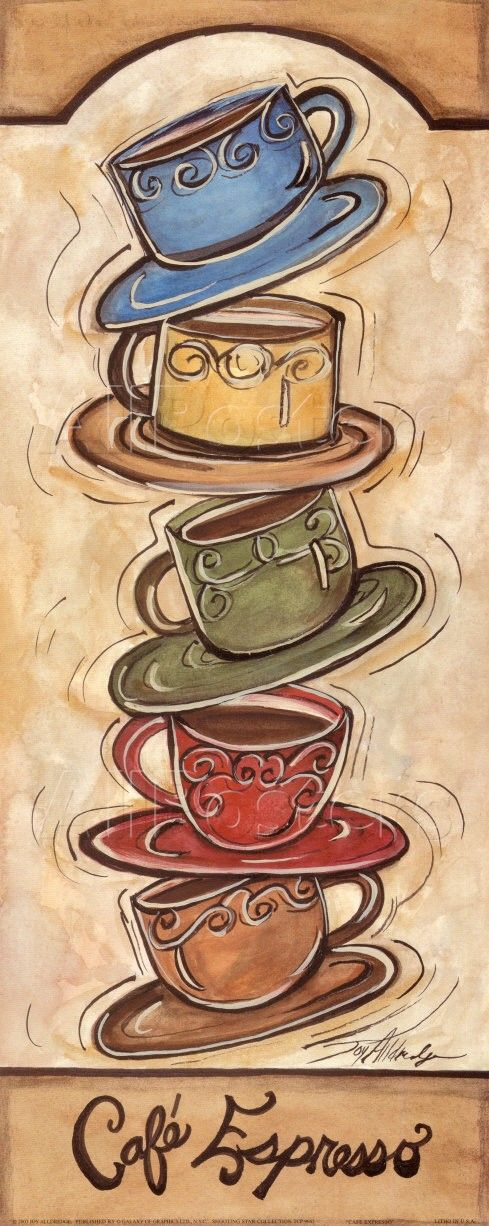 Café #espresso by Joy Alldredge