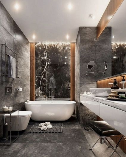 Bathroom Countertop Inspirations Bathroom Interior Design Bathroom Interior Grey Bathroom Tiles