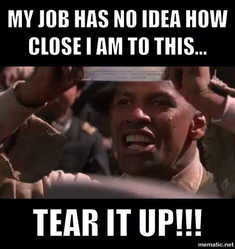 Tear. It. Up.