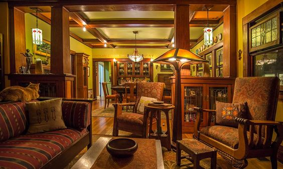 Arts & Crafts - Craftsman Bungalow - Historic Fairmount District - Fort Worth, Texas - Stacy & Eric's A-&-C  - Perfection!!