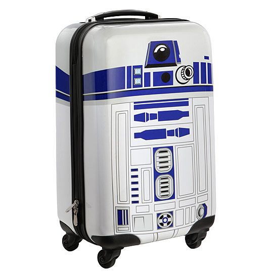 Travel to a galaxy far, far away with this Star Wars R2-D2 Carry-On Luggage. This is the droid you are looking for, but hopefully not the droid the TSA is looking for.  This piece of luggage is within carry-on restrictions for most ai