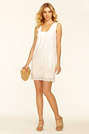perfect summer dress...alanza eyelet dress by calypso st. barth