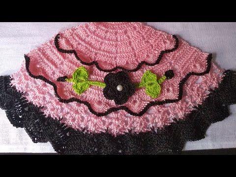 Saia De Croche Para Pano De Prato Parte 1 Youtube Creative Embroidery Crochet Baby Knitting
