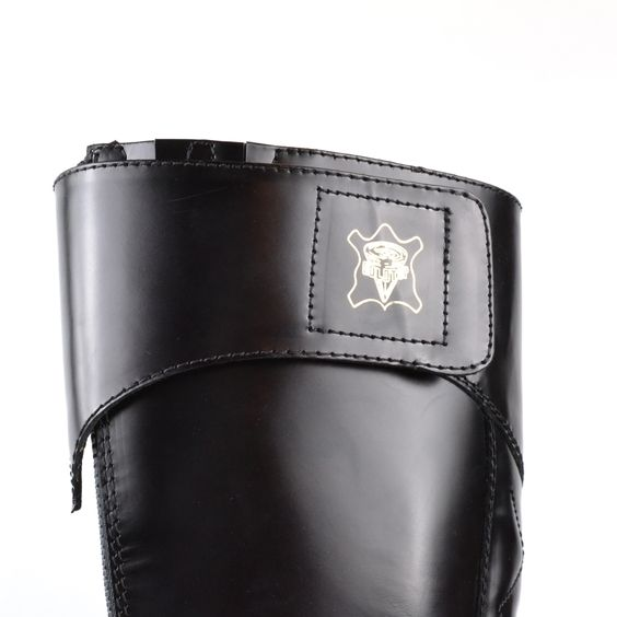 Goldtop Trophy Boots - Tall Police Cavalry Style Motorcycle Boots with AERO zip  Made in England #Goldtop #Motorcycle