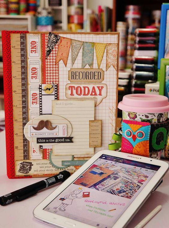 Smash Book Cover Ideas : Awesome smash book cover books and scrapbooks