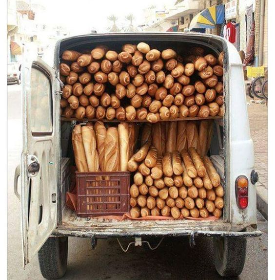 """Love this pic of a Renault 4 F4 van putting in solid work for a Paris bakery. Originally posted on FB by @the.superswede #Paris #Baguette #France…"":"