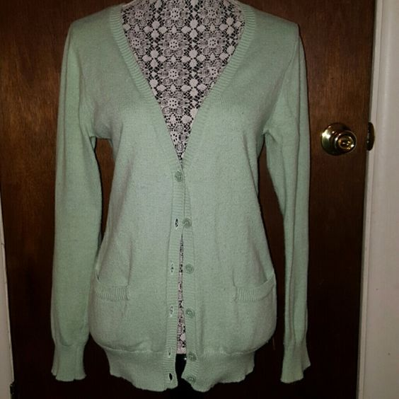 Forwver 21 SeaFoam green sweater | Forever 21, Sweater cardigan ...