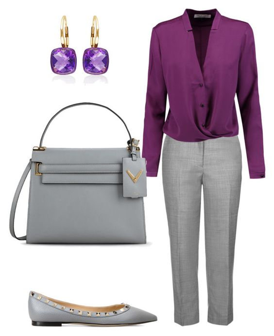 """Casual Friday"" by arta13 on Polyvore featuring Topshop, Halston Heritage, Valentino and Belk & Co."