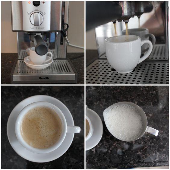 diy coconut milk latte