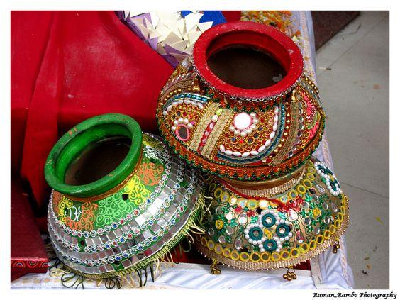 Happy Diwali 2012 - Colorful Decorative Pots | Flickr - Photo Sharing!