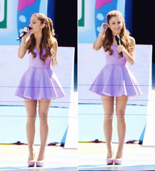 Purple dress ariana grande s pinterest ariana for Ariana grande wedding dress