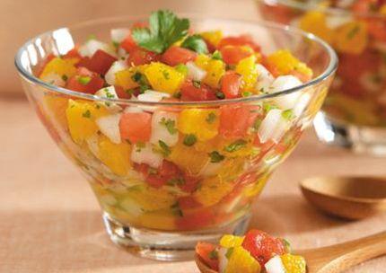 Citrus Salsa | Recettes avec édulcorant SPLENDA® Produits