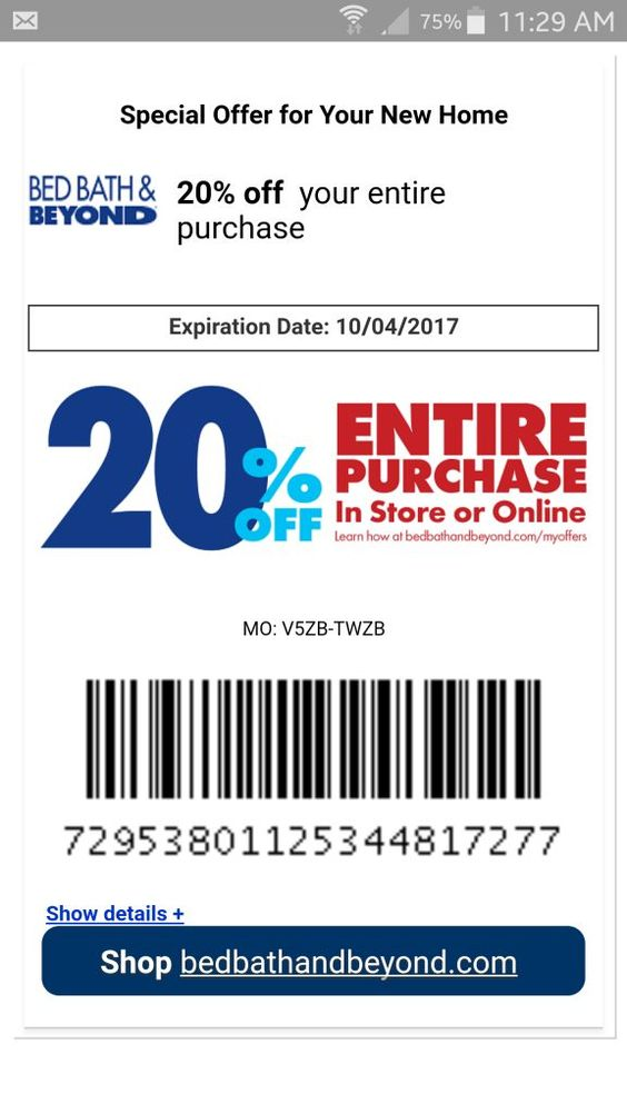 20 Bed Bath And Beyond Coupons Bed Bath And Beyond Coupon For