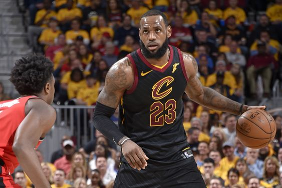 LeBron James is Eastern Conference Finals-bound for the 10th time in the last 12 seasons. The Cleveland Cavaliers are following his lead for the sixth time of that stretch. King James and Co...