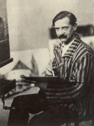 """Maurice Utrillo. Pintor francés de principios del siglo XX dentro de la denominada """"Escuela de París""""."""