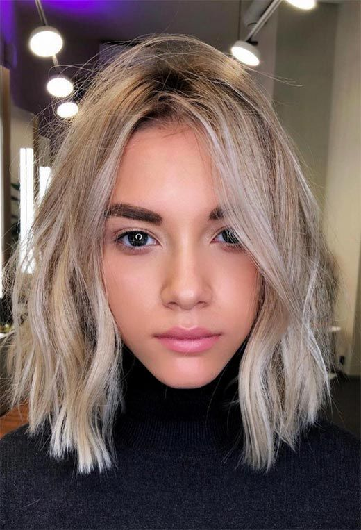 Lob Haircut Trend 63 On Trend Long Bob Haircuts Hairstyles To Inspire In 2020 Oval Face Haircuts Oval Face Hairstyles Trending Haircuts