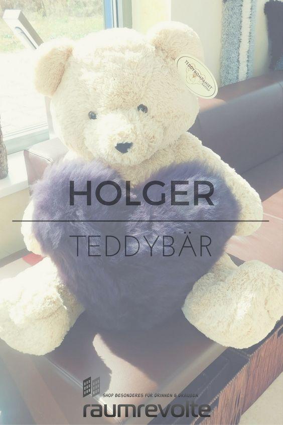 Teddybär Holger von Teddykompaniet