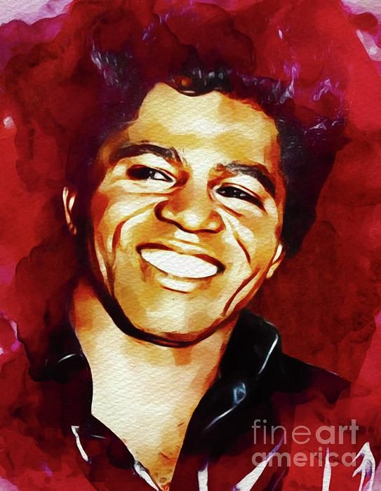 James Brown Music Legend By Esoterica Art Agency James Brown Music Legends Art