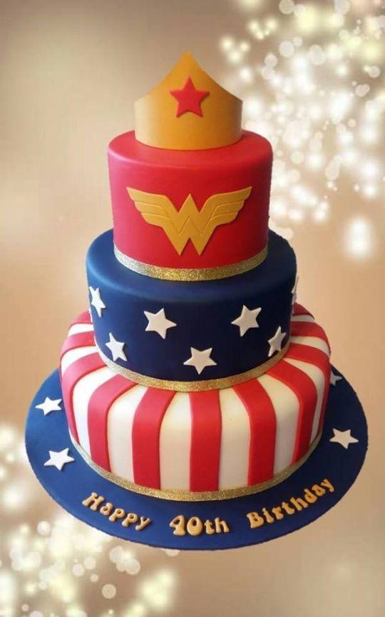 Wonder Woman Awesome Cakes Pinterest Cakes Women S