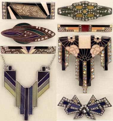 Pierre Bex, des bijoux art déco et art nouveau