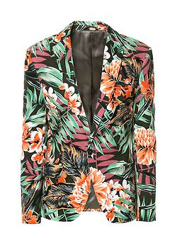 Men's Floral Blazer x Zara | What in Blazers? | Pinterest | Posts ...