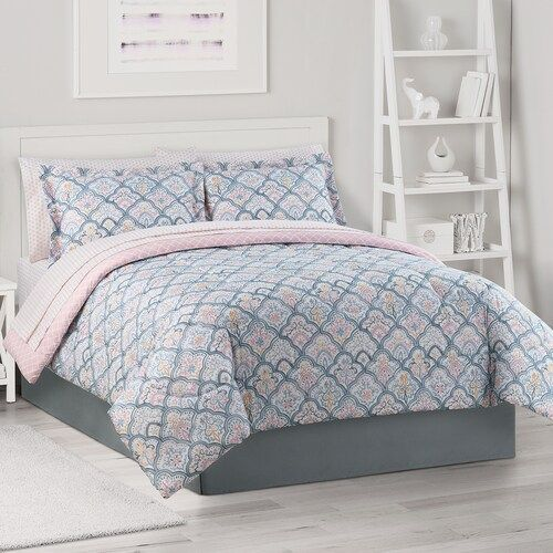 The Big One Twin Xl Complete Comforter Set With Sheets With Sheets Twin Xl Bedding Sets Bedding Sets Bedding Sets Grey