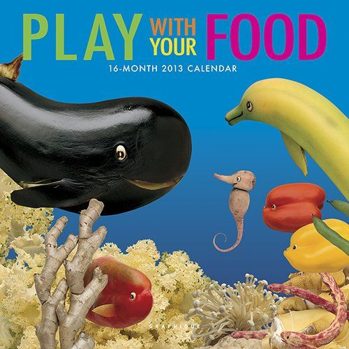 Babyfood: Play With Your Food - 16-Month 2013 Mini Calendar