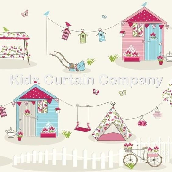 Fabric Selection | Childrens Curtains, Kids Curtains, Childrens ...