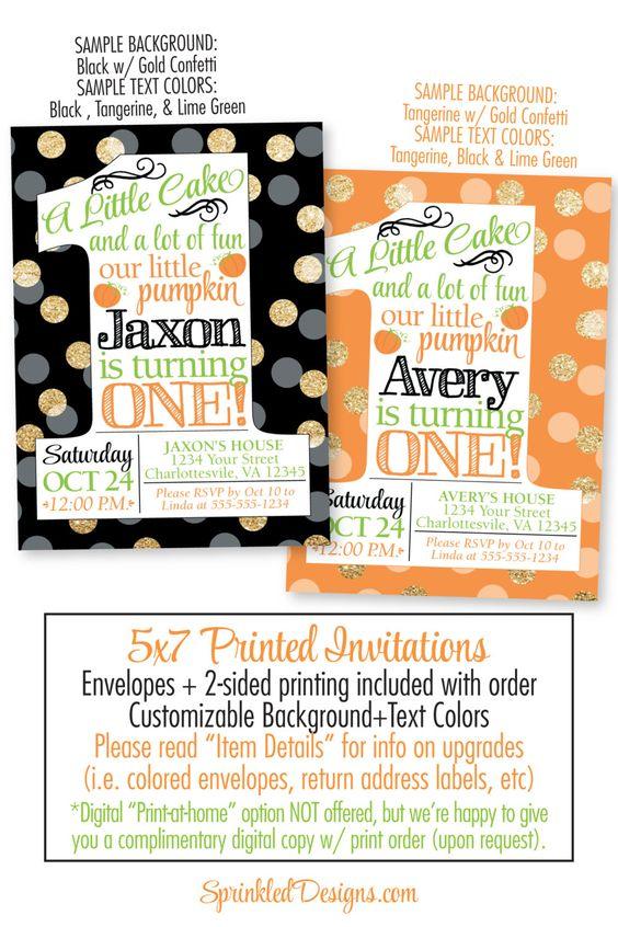 She Leaves A Little Sparkle Invitation - First Birthday Invitation - sample return address label