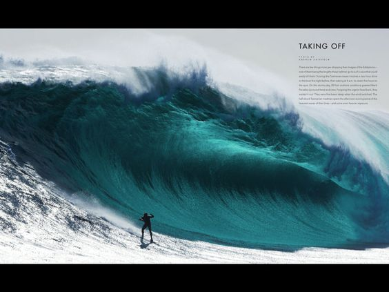Massive big wave