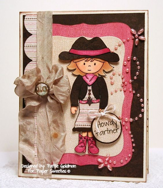 Designed by Pattie Goldman using Abigail, Giddyup! and Little Wishes from Paper Sweeties!