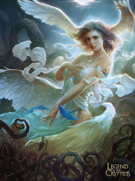 In today's showcase of premium digital art we are focusing on Angels & Demons.: