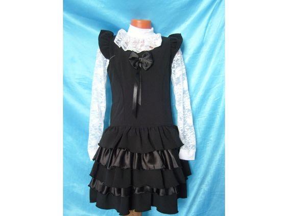 Для девочки выкройка юбка школьная