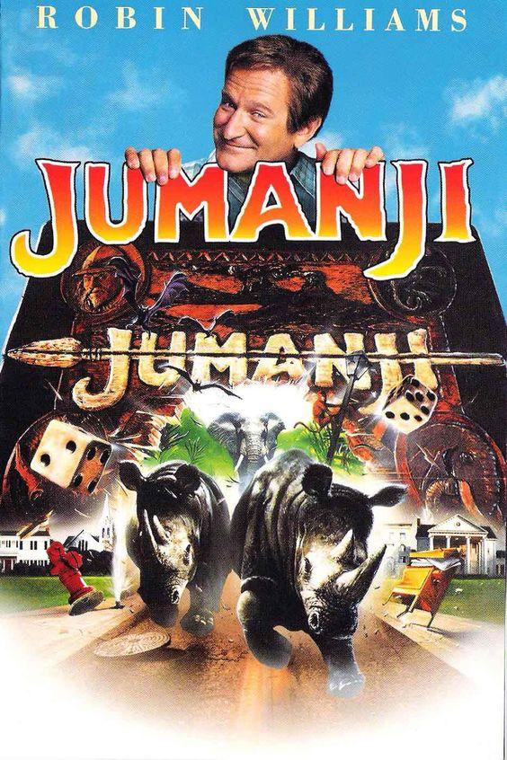 Jumanji est un film de Joe Johnston avec Robin Williams, Kirsten Dunst. Synopsis : Lors d'une partie de Jumanji, un jeu très ancien, le jeune Alan est propulsé sous les yeux de son amie d'enfance, Sarah, dans un étrange pays. Il ne p