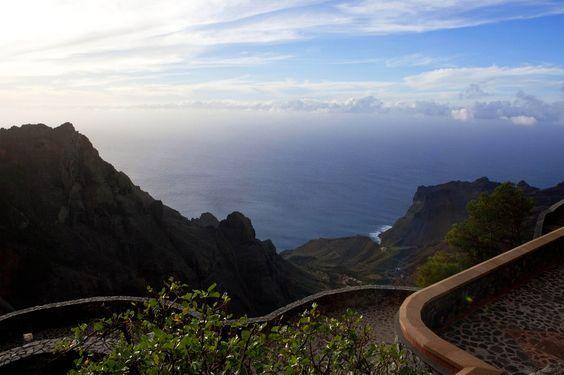 Vallehermoso. Isla de La Gomera