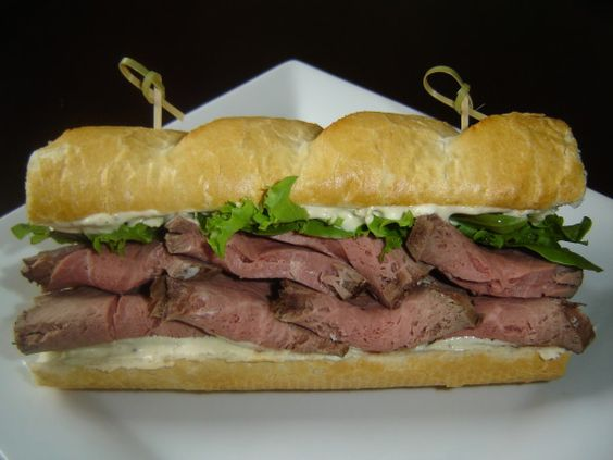 beef and horseradish sauce sandwich | recipe