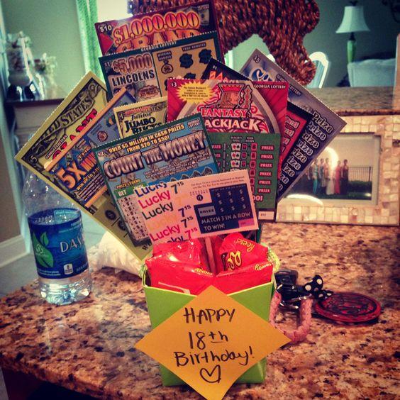18th Birthday Gift! #scratchoffs