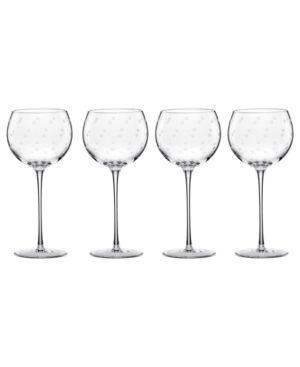 Larabee Dot Balloon wine glasses.