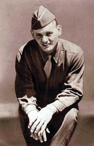 Edward Donald Slovik (February 18, 1920 – January 31, 1945) was a private in the United States Army during World War II and the only American soldier to be court-martialled and executed for desertion since the American Civil War.  Although over 21,000 American soldiers were given varying sentences for desertion during World War II, including 49 death sentences, Slovik's was the only death sentence carried out