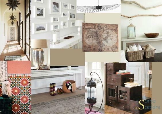 planche tendance pour un espace entr e ambiance ethnique chic et couleurs chaudes planches. Black Bedroom Furniture Sets. Home Design Ideas