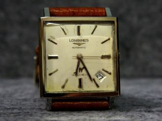 Herrenuhr Longines Ultrachron Automatic Chronometer Vintage 70er Werk Kal.  431 Bild