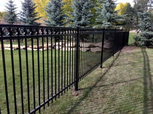 Specrail Residential Aluminum Fence Panels And Gates Fence Design Fence Panels Modern Fence