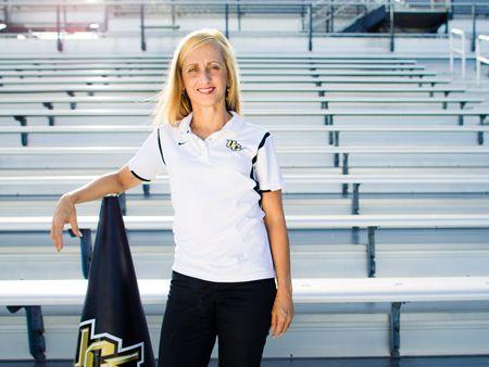 UCF Cheerleading's Coach, Linda Gooch. Love her!