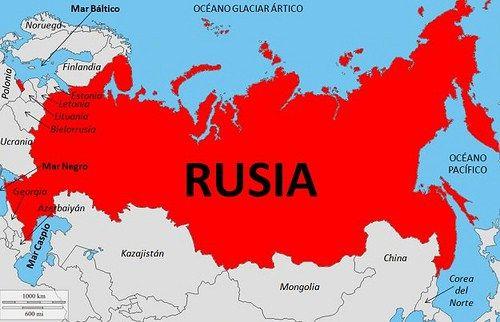 Ciudades De Rusia Mapa.Mapa Politico De Rusia Con Regiones Y Ciudades En Espanol