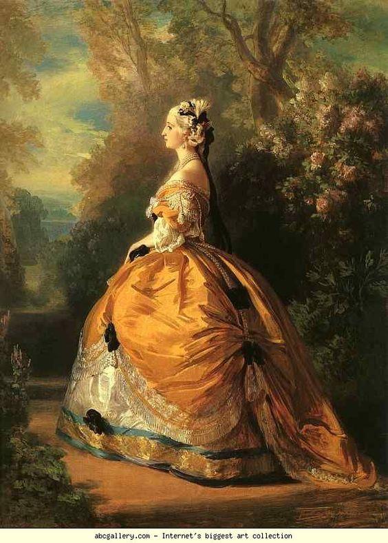 Franz Xaver Winterhalter. Empress Eugénie.