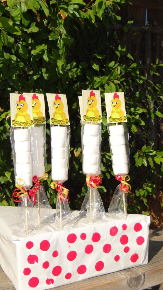Sprout Chica the Chicken Marshmallows Party by FantastikCreations, $1.00