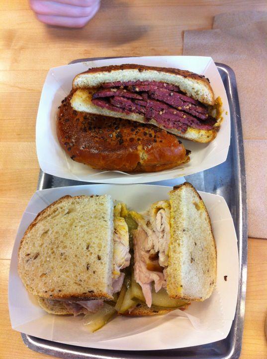 Great deli sandwiches