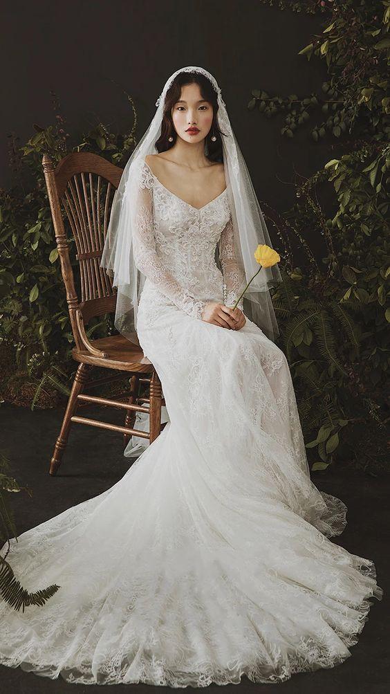Váy cưới tối giản đẹp